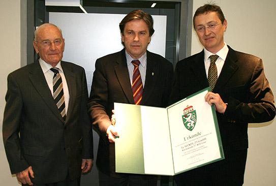 Verleihung des Steirischen Landeswappens